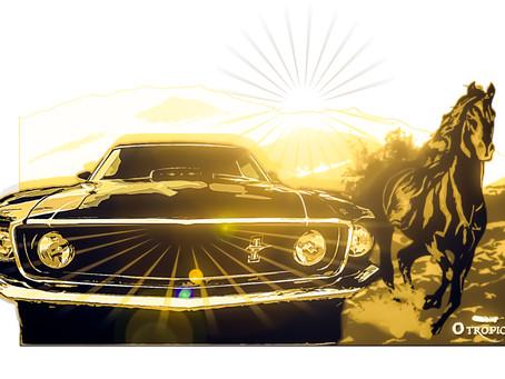 A Curva da Serra- O Corcel e o Mustang