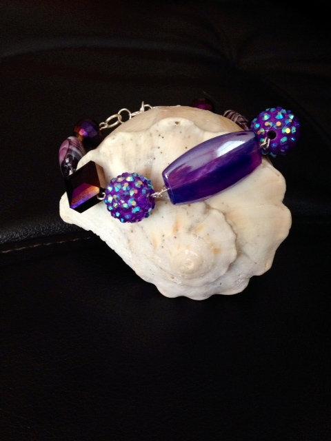 Purple Bracelet