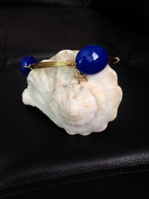 Dark Blue Circular Stones