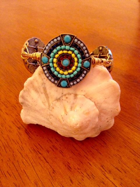 Blue Multicolor Stones