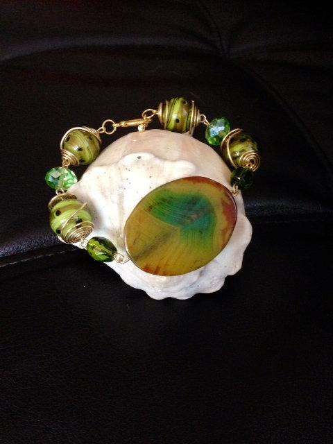 Fresh Green Bracelet