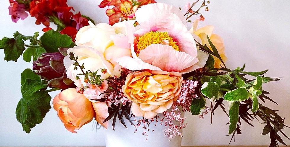 Flower Farm-to-Table Arrangement