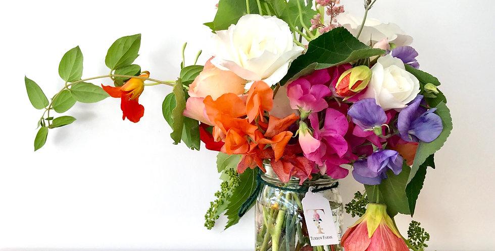 Farm Fresh Flower Jar