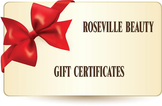 Roseville Beauty Gift Certificate