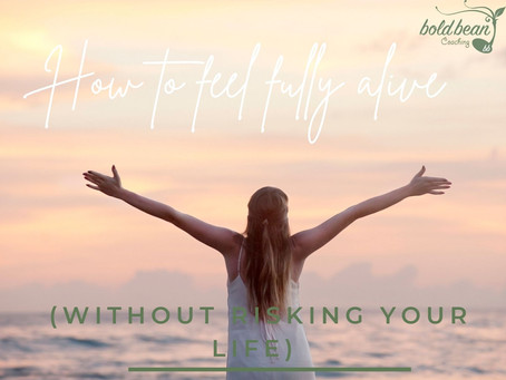 How to feel fully alive - without risking your life