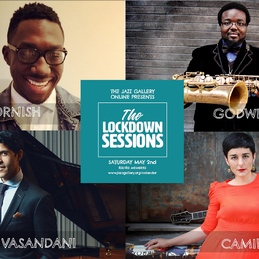 THE JAZZ GALLERY ONLINE PRESENTS THE LOCKDOWN SESSIONS