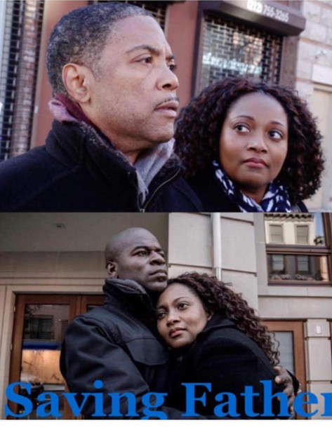Still shots from Saving Father with Ebbe Bassey, Robert Tyler and Hisham Tawfiq