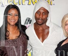On the red carpet for the 12 Steps To Recovery launch party with Miles Maker, Star Davis and Damian Bailey