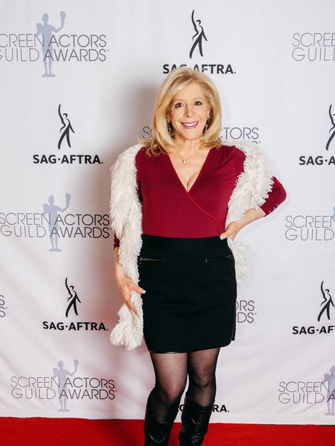 On the red carpet at the SAG-AFTRA AWARDS viewing party!