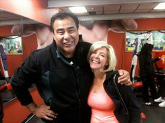 On set for ABC Primetime's What Would You Do? with John Quinones