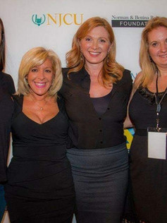 On the red carpet for the Golden Door International Film Festival for The Networker with casting director Donna McKenna, Deborah Twiss and Lisa Stanulis