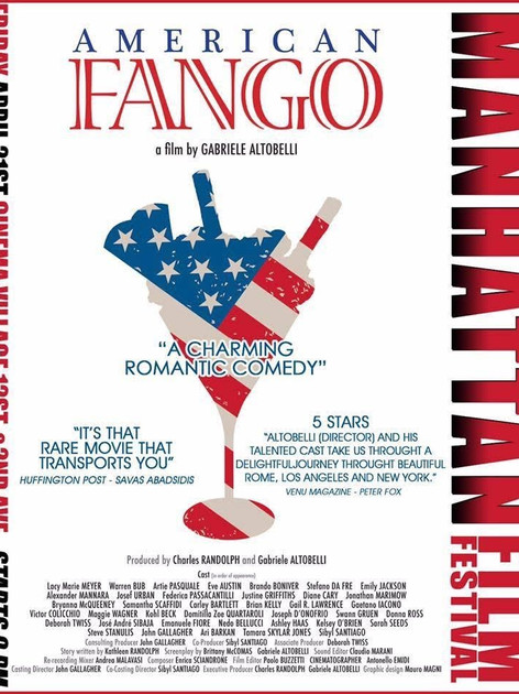 Poster for American Fango from the Manhattan Film Festival