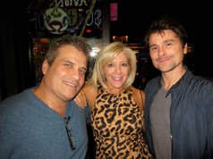 Cast party for The Networker with David Frances Calderazzo and Brian Kelly