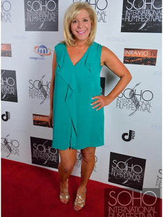 On the red carpet at Soho Film Festival for The Networker