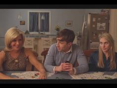 Still from In Loving Memory of Uncle Harold with Andy Phillips Harris and Victoria Zeldin