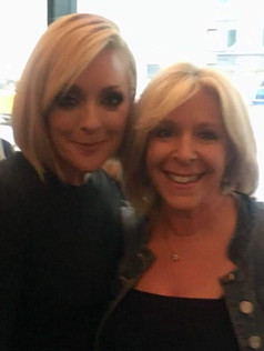 On the red carpet for screening of Unbreakable Kimmy Schmidt at the SAG Foundation with Jane Krakowski