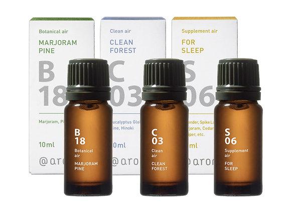 エッセンシャルオイル 木の香りシリーズ