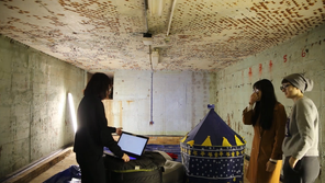 Traditional Bomb Shelter in London