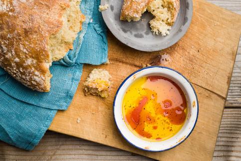Ruokakuva | Välimerellinen leipädippi