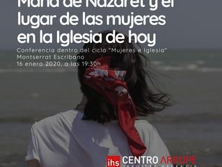 MARÍA DE NAZARET Y EL LUGAR DE LAS MUJERES EN LA IGLESIA HOY