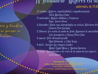 IV Seminario Mujeres en diálogo