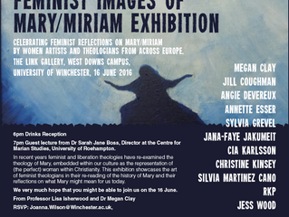 Feminist images of Mary/Miriam Exhibition