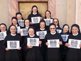 Las mujeres católicas se plantan
