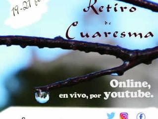 RETIRO ONLINE DE CUARESMA. MONASTERIO DE SUESA