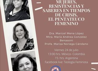 MUJERES, RESISTENCIAS Y SABERES EN TIEMPOS DE CRISIS. EL PENTATEUCO FEMENINO