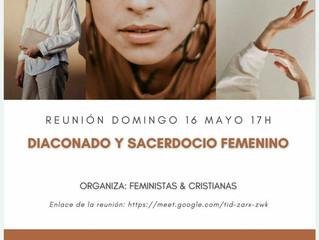 DIACONADO Y SACERDOCIO FEMENINO