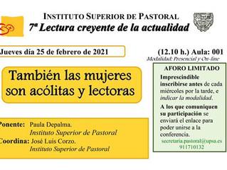 INSTITUTO SUPERIOR DE PASTORAL