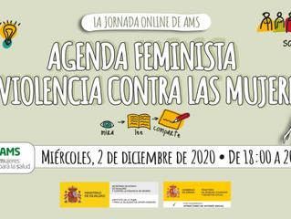 VIII JORNADA ANUAL DE AMS AGENDA FEMINISTA Y VIOLENCIA CONTRA LAS MUJERES