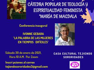 """CÁTEDRA POPULAR DE TEOLOGÍA Y ESPIRITUALIDAD FEMINISTA """"MÁRIA DE MAGDALA"""""""