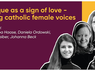 CRITIQUE AS A SING OF LOVE-YOUNG CATHOLIC FEMALE VOICES