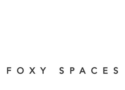 foxy spaces logo 18 outlined transparent