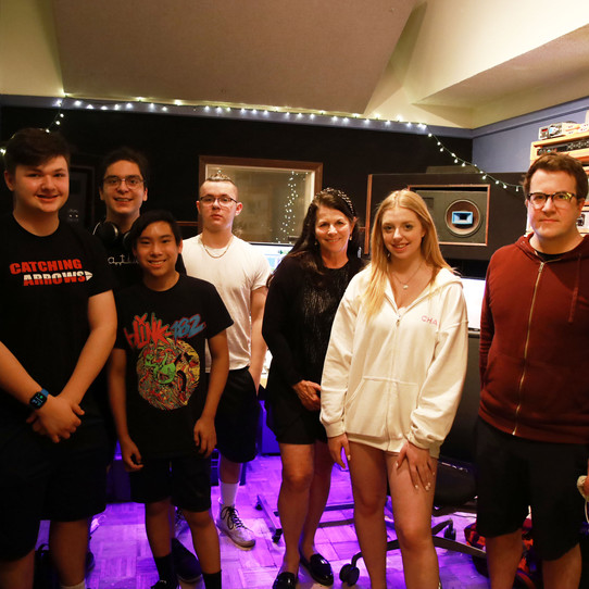 """Catching Arrows Band creates new original song """"Locked in"""" remotely on Zoom"""