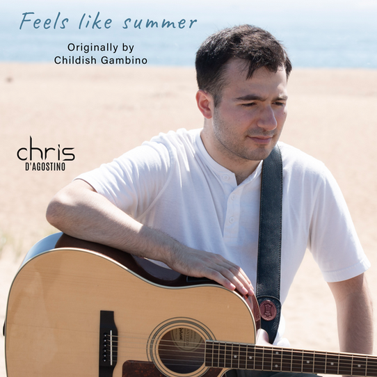 """Chris D'Agostino's vocal mastery rises in """"Feels like Summer"""" cover"""