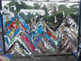 Plastic Bag Weaving