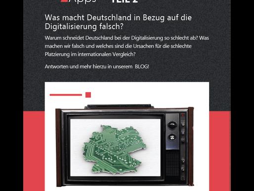 Was macht Deutschland in Bezug auf die Digitalisierung falsch?
