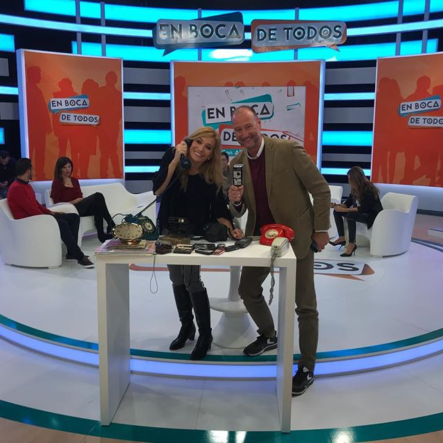 Con _pedrogaguado en el programa #enboca