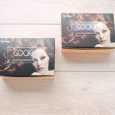 Q10洗髮膠彩盒