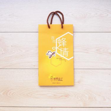 蜂蜜手提紙袋