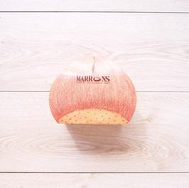 栗子和菓子千層切片蛋糕外帶盒