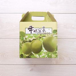 岡山牛奶蜜棗水果手提包裝盒