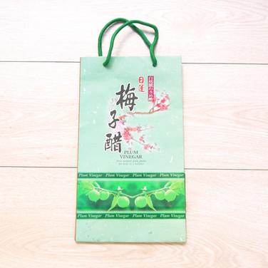 梅子醋手提紙袋