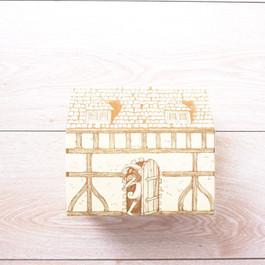 彌月蛋糕點心餅乾屋形餐盒