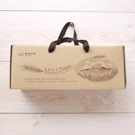 奧瑪烘焙流淚土司糕點手提外帶包裝盒