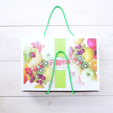 蔬果宅配送禮彩箱
