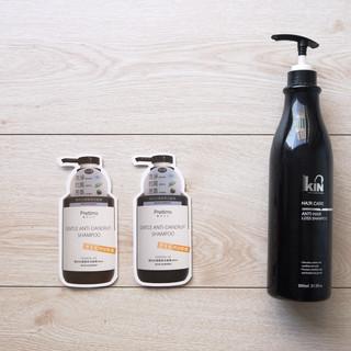 草本抗屑洗髮精瓶型商品說明書