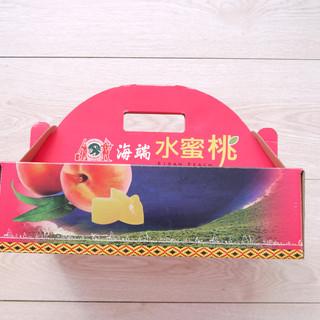 水蜜桃伴手禮手提彩箱